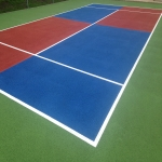 Artificial Clay Tennis Court in Abersoch 5