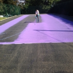 Polymeric Tennis Court Surfacing in Fermanagh 1