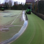 Polyurethane Painting Tennis Courts in Abergwyngregyn 1
