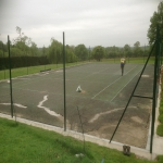 Polyurethane Painting Tennis Courts in Almeley Wootton 1
