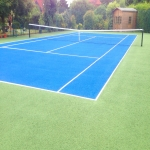 Artificial Grass Tennis Pitch in Bagnall 8