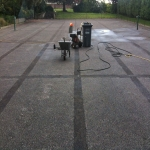 Polyurethane Painting Tennis Courts in Ashford Hill 1