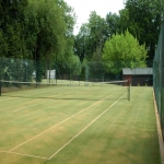 Tennis Court Polyurethane Painting in Aberdalgie 1