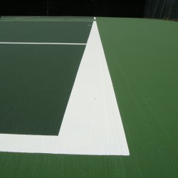 Recolouring Tennis Facility in Achleck 12