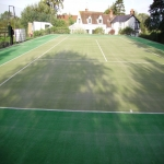 Artificial Grass Tennis Pitch in Achfary 2