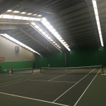 Polyurethane Painting Tennis Courts in Ash Grove 5
