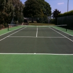 Polyurethane Painting Tennis Courts in Ash Grove 1