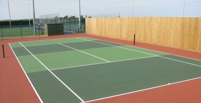 Tennis Court Design in Shropshire
