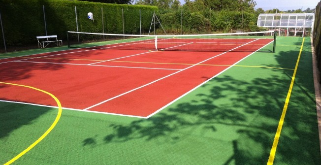 Tennis Surfacing Upgrade in Abbot's Meads