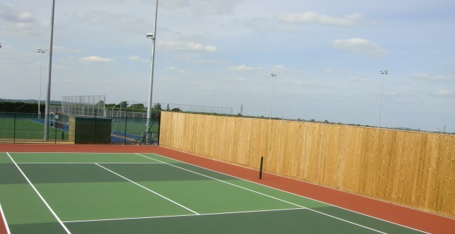 Tennis Facility Surfaces in The Rock