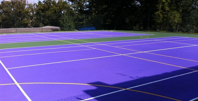 Sports Court Refurbishment in Abbot's Meads
