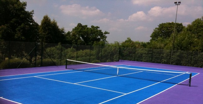 Tennis Court Renovation in Abbot's Meads
