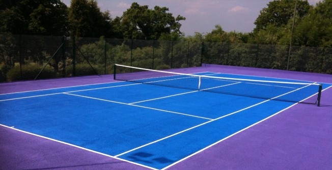 Tennis Design Options in Shropshire