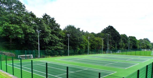 Tennis Court Funding in Addington