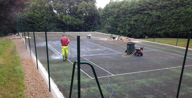 Sports Court Cleaning in Cornwall