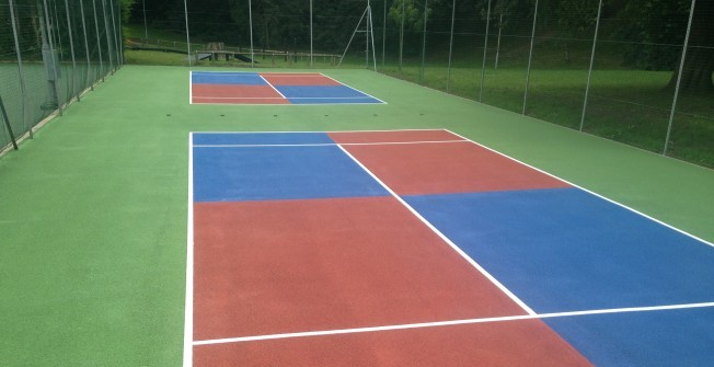 Tennis Surface Colouring in Ards