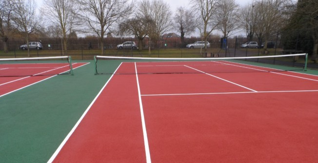 Tennis Court Weed Maintenance in Ballymoney