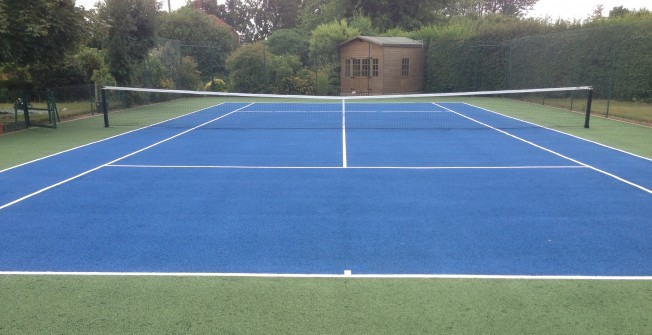 Acrylic painted sports surfaces for Sport court paint