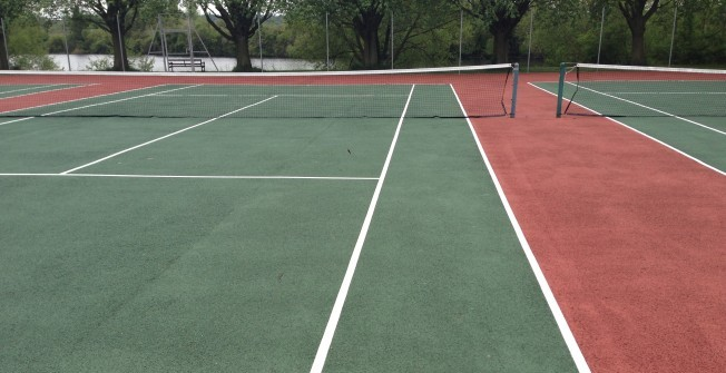Reapplying Tennis Markings in South Ayrshire