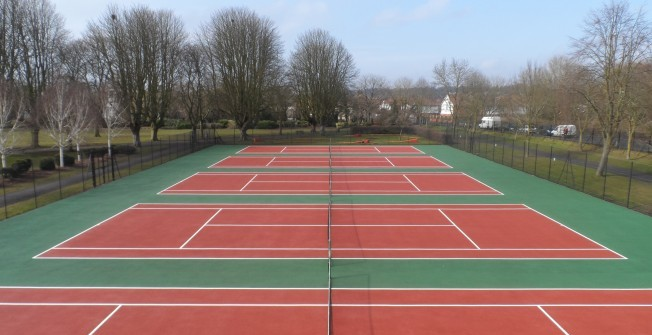 Tennis Colour Coating