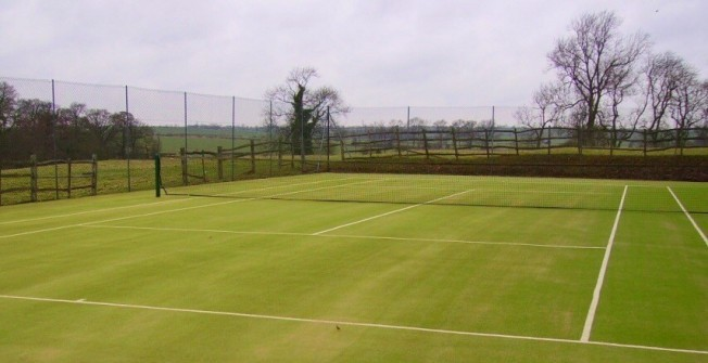 Synthetic Grass Courts in Aiginis
