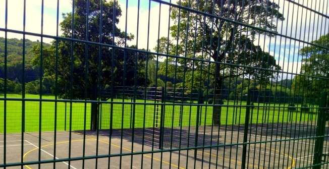 Rebound Sports Fence in Buckinghamshire