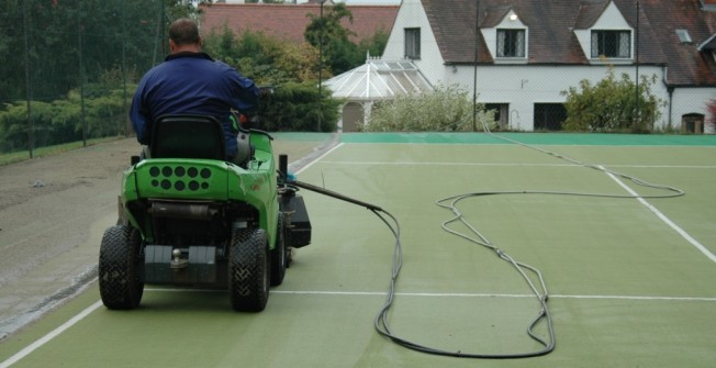 Tennis Court Maintenance in Cornwall