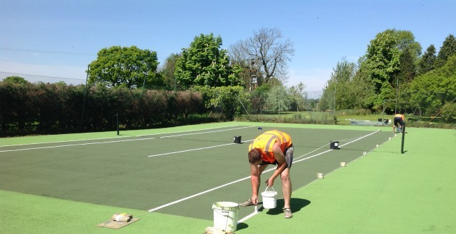 Sport Surface Repaint