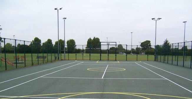 Multi Use Tennis Court in Abington