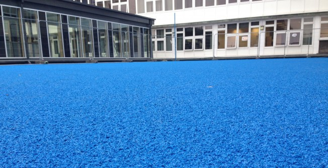 Polyurethane Sports Coating in Abergwyngregyn