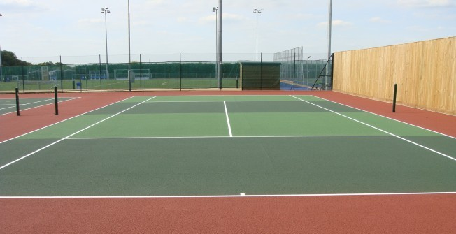 Tarmac Tennis Courts in Aberdeen City