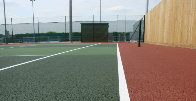 Tennis Court Relining in South Ayrshire