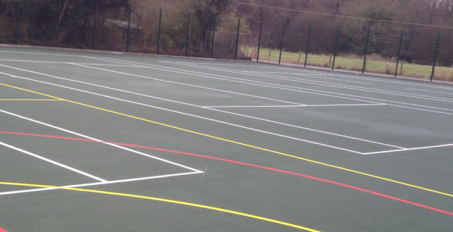 Tennis Facility Installers in Rutland