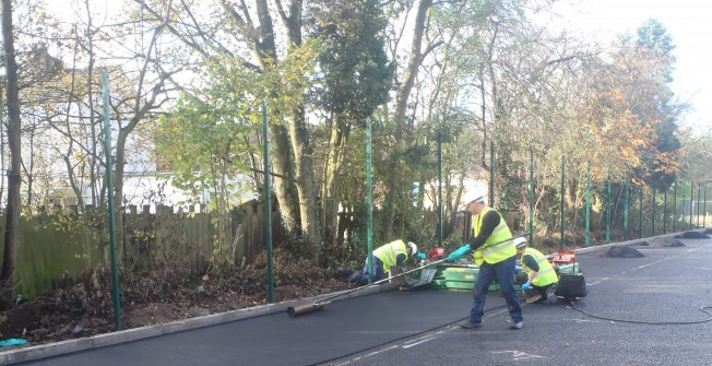 Tennis Court Resurfacing in Abbots Morton