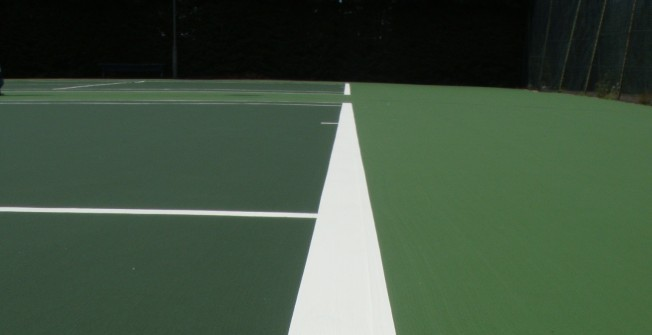 Tennis Line Marking in Falkirk