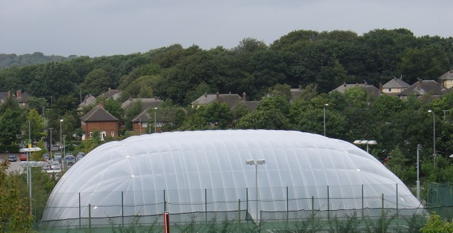 Tennis Court Air Domes In Cheshire