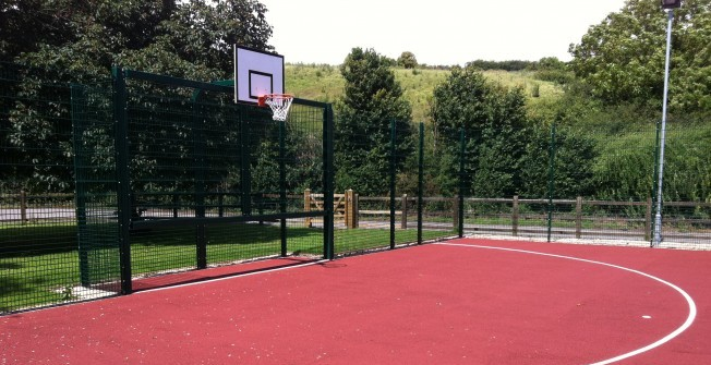MUGA Facility Fencing in Buckinghamshire