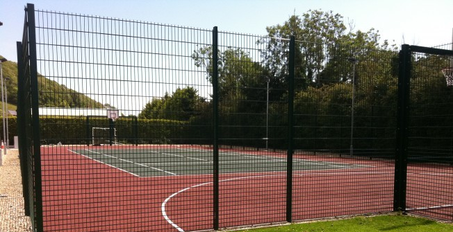Tennis Court Fencing in Buckinghamshire