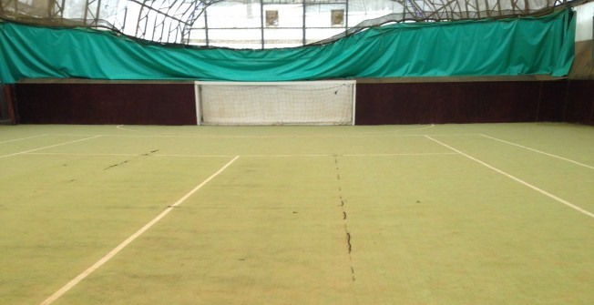 Tennis Court Repairs in Ansty