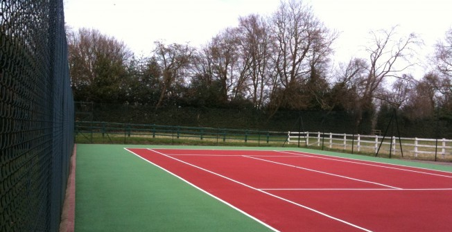 Repainting Tennis Surfaces